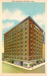 Iowa Des Moines Hotel Chamberlain