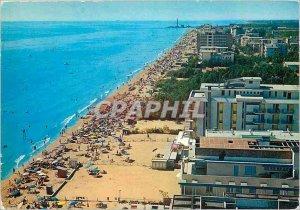 Postcard Modern Jesolo panorama spot with lighthouse
