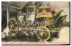 Old Postcard Versailles Chateau Grand Trianon gala Discount Car Czar Nicoals ...