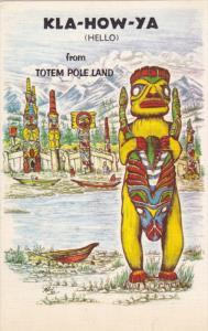 Haida Tribe of British Columbia, Canada, Strong Man of North Island, KLA-HO...