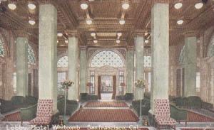 California San Francisco Lobby Hotel Whitcomb 1922