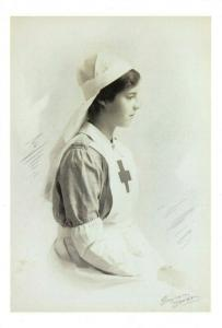 Vintage Repro Postcard, WW1 Lady Jane Grey Stamford Hospital Dunham Massey 10S