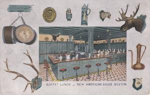 BOSTON , Massachusetts , 00-10s ; Buffet Lunch, New American House
