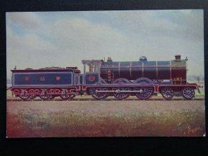 C.R. Caledonian Railway 4-6-0 No.179 Steam Locomotive Postcard