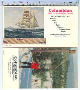 2 - Columbian Rope & Commercial Twines / Rope Blotters