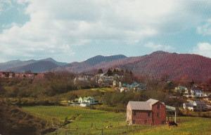 North Carolina Waynesville Panoramic View
