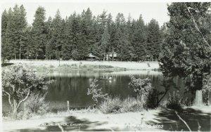 RPPC S. & E. Reservoir at De Sabla, Cal. Vintage Postcard P106