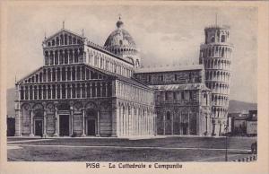 Italy Pisa La Cattedrale E Campanile