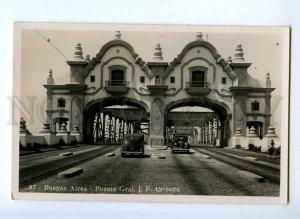192200 ARGENTINA BUENOS AIRES Uriburu bridge Vintage postcard
