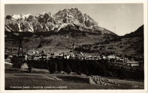 CPA Cortina Monte Cristallo . ITALY (544111)