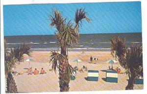 Beautiful Beach Scene at Myrtle Beach, South Carolina, 40-60s