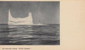 LABRADOR , Canada , 1900-10s ; Every-day Ice Berg