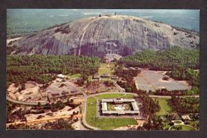 GA Aerial Birdseye View STONE MOUNTAIN GEORGIA Postcard