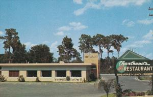 BARTOW, Florida, 1940-1960's; Chartrand's Restaurant, Highway 60