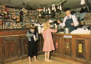 Gamla Linkoping Swedish Sweet Shop Postcard