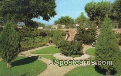 Sunken Gardens, Municipal Park in Clovis, New Mexico