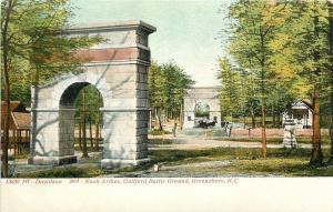 Greensboro North Carolina~Guilford Battle Ground~Davidson~Nash Arches~1905
