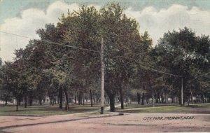 FREMONT , Nebraska, 1900-10s ; City Park