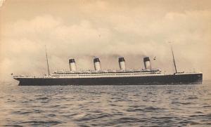 White Star Line Ship Postcard Old Vintage Steamer Antique Post Card Unused