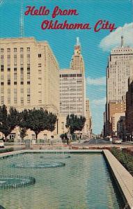 Oklahoma City Hello From Oklahoma City Park Avenue 1964