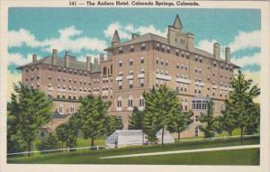 Colorado Colorado Springs The Antlers Hotel 1951