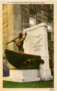 MA - New Bedford. The Whaleman Statue