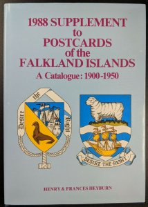 Supplement to Postcards of the Falkland Islands, 1988: A Catalogue 1900-1950