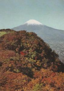 Mount Fuji, Japan - Fall - Autumn View