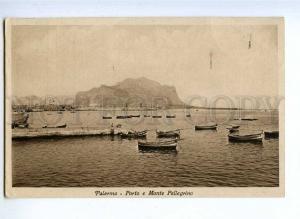 190824 ITALY PALERMO port Vintage RPPC 1939 year