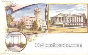 By American Souvenir Card Co. 1897 Washington Patriographics, Postcard Postca...