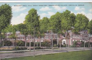 Margaret Snell Hall , Girl's Dorm , Oregon State College , CORVALLIS , Oregon...