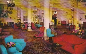 Canada British Columbia Victoria Interior View Of Empress Hotel