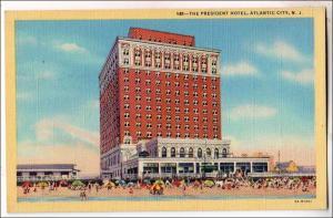 President Hotel, Atlantic City NJ