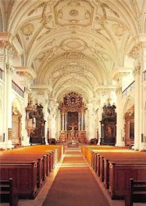 Friedrichshafen am Bodensee Schlosskirche, erbaut v. Chr. Thumb 1695-1701
