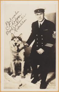 RPPC - Best Wishes, C.E. Lofgren - Byrd Antarctic Expedition