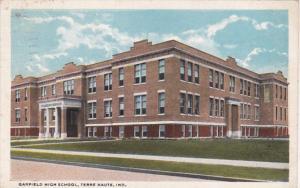 Indiana Terre Haute Garfield High School 1922