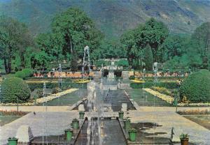 India Nishat Bagh The Pleasure Garden Fountains