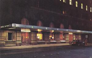 Hotel Du Pont At Night, WILMINGTON, Delaware, 40-60´s