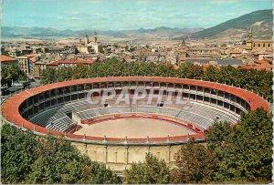 Postcard Modern Pamplona Bullring Bullfight