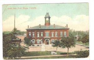 Town Hall, Port Hope, Ontario, Canada, PU-1908