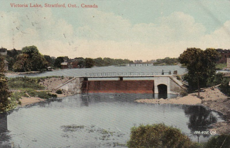 STRATFORD, Ontario, Canada, PU-1911; Victoria Lake