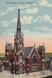 NASHVILLE , Tennessee, 1900-10s ; First Baptist Church