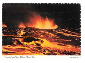 Hawaii River of Lava Volcanos National Park Vtg Postcard 4X6