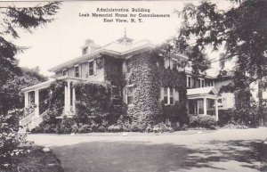 New York East View Administration Building Loch Memorial Home For Convalescen...
