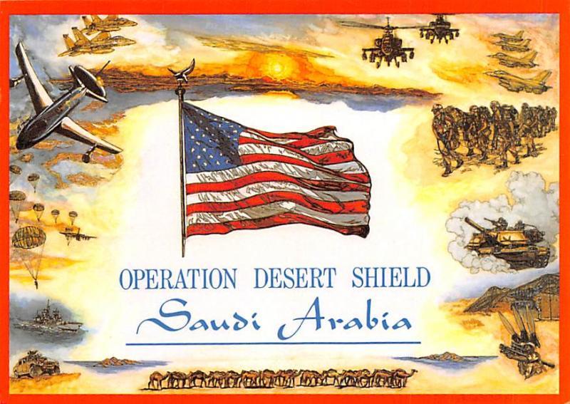 Operation Desert Shield - Saudi Arabia