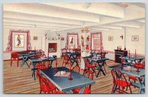 Pittsburg Kansas~Hotel Besse~Svenska Rummet~Swedish Dining Room~1939 Linen PC