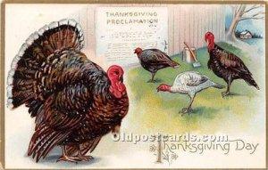 Thanksgiving Greetings 1908