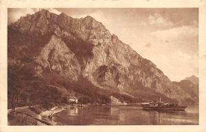 Salzkammergut Gmunden hois'n und Traunstein Schiff Boat River