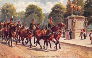 Raphael Tuck Harry Payne Military in London Series III #2 Postcard