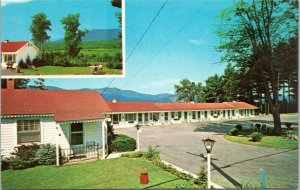 North Conway Motel Routes 16 & 302, New Hampshire postcard